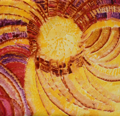Sun of Joy by Spiritual Artist Tarun Cherian